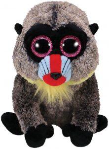 Peluche de Mandril de Ty de 15 cm - Los mejores peluches de monos - Peluches de animales