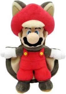 Peluche de Mario Bros Ardilla de 18 cm de Nintendo - Los mejores peluches de Super Mario Bros - Peluches de personaje de Mario