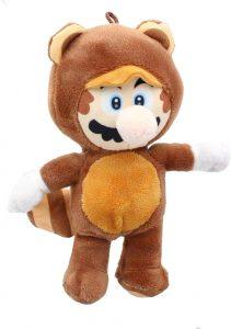 Peluche de Mario Bros Mapache de 30 cm de Nintendo - Los mejores peluches de Super Mario Bros - Peluches de personaje de Mario