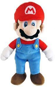 Peluche de Mario Bros de 25 cm de Nintendo - Los mejores peluches de Super Mario Bros - Peluches de personaje de Mario