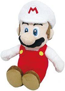 Peluche de Mario Bros fuego de 22 cm de Nintendo - Los mejores peluches de Super Mario Bros - Peluches de personaje de Mario