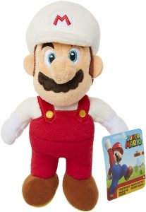 Peluche de Mario Bros fuego de 28 cm de Nintendo - Los mejores peluches de Super Mario Bros - Peluches de personaje de Mario
