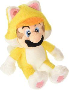 Peluche de Mario Bros gato de 25 cm de Nintendo - Los mejores peluches de Super Mario Bros - Peluches de personaje de Mario