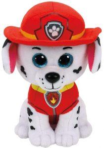 Peluche de Marshall de la Patrulla Canina de 15 cm de Ty - Los mejores peluches de la Patrulla Canina - Peluches de la Patrulla Canina