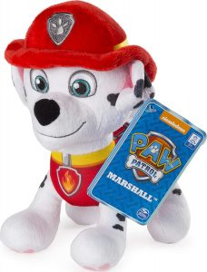 Peluche de Marshall de la Patrulla Canina de 20 cm - Los mejores peluches de la Patrulla Canina - Peluches de la Patrulla Canina
