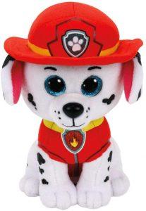 Peluche de Marshall de la Patrulla Canina de 24 cm de Ty - Los mejores peluches de la Patrulla Canina - Peluches de la Patrulla Canina