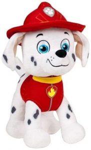 Peluche de Marshall de la Patrulla Canina de 28 cm 3 - Los mejores peluches de la Patrulla Canina - Peluches de la Patrulla Canina