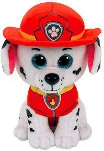 Peluche de Marshall de la Patrulla Canina de 42 cm de Ty - Los mejores peluches de la Patrulla Canina - Peluches de la Patrulla Canina