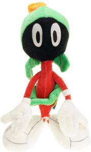 Peluche de Marvin el Marciano de 37 cm - Los mejores peluches de Marvin de los Looney Tunes - Peluches de dibujos animados