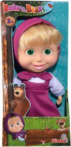 Peluche de Masha de Simba de 23 cm - Los mejores peluches de Masha y el oso - Peluches de Masha y el Oso