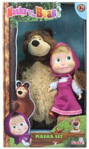Peluche de Masha y el oso de Simba de 43 y 23 cm 3 - Los mejores peluches de Masha y el oso - Peluches de Masha y el Oso