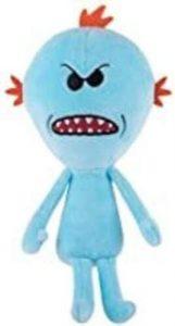 Peluche de Meeseeks de Rick y Morty de 22 cm - Los mejores peluches de Rick y Morty - Peluches de series animadas