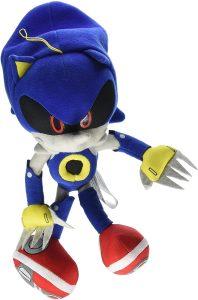Peluche de Metal Sonic de 20 cm de SEGA - Los mejores peluches de Sonic - Peluches de personajes del erizo Sonic