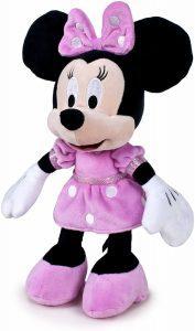 Peluche de Minnie Mouse de Famosa de 25 cm - Los mejores peluches de Minnie Mouse - Peluches de Disney