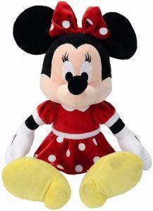 Peluche de Minnie Mouse vestido rojo de Simba de 50 cm - Los mejores peluches de Minnie Mouse - Peluches de Disney