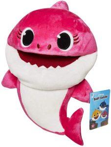 Peluche de Mommy Shark de 17 cm - Los mejores peluches de Baby Shark - Peluches de personajes de Baby Shark
