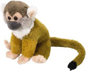 Peluche de Mono ardilla de Wild Republic de 20 cm - Los mejores peluches de monos - Peluches de animales