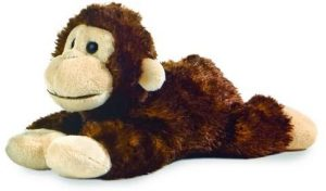 Peluche de Mono de Aurora de 20 cm - Los mejores peluches de monos - Peluches de animales