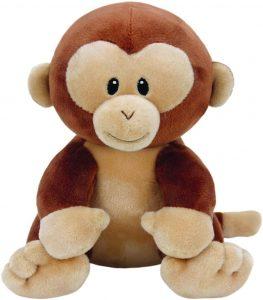 Peluche de Mono de Ty de 23 cm - Los mejores peluches de monos - Peluches de animales