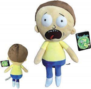 Peluche de Morty de Rick y Morty de 34 cm - Los mejores peluches de Rick y Morty - Peluches de series animadas