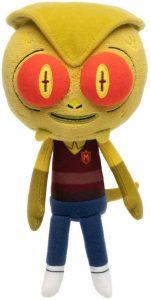 Peluche de Morty lagarto de Rick y Morty de 15 cm - Los mejores peluches de Rick y Morty - Peluches de series animadas