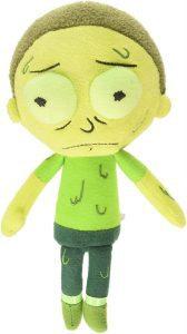 Peluche de Morty tóxico de Rick y Morty de 20 cm - Los mejores peluches de Rick y Morty - Peluches de series animadas