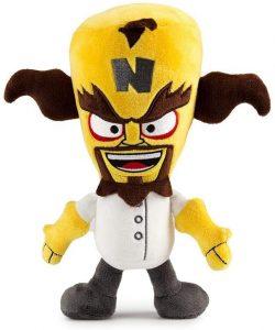 Peluche de Neo Cortex de Crash Bandicoot de 20 cm - Los mejores peluches de Crash Bandicoot - Peluches de personaje de Crash Bandicoot