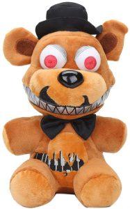 Peluche de Nightmare Freddy de 20 cm - Los mejores peluches de 5 Nights at Freddys - Peluches de videojuegos
