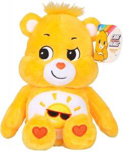 Peluche de Oso Amoroso amarillo de 23 cm - Los mejores peluches de los Osos amorosos - Care Bears - Peluches de personajes de los osos amorosos