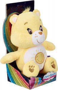 Peluche de Oso Amoroso amarillo de 30 cm 2 - Los mejores peluches de los Osos amorosos - Care Bears - Peluches de personajes de los osos amorosos