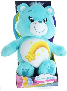 Peluche de Oso Amoroso azul de 30 cm - Los mejores peluches de los Osos amorosos - Care Bears - Peluches de personajes de los osos amorosos