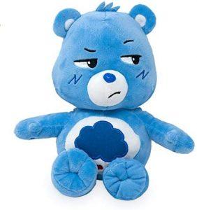 Peluche de Oso Amoroso azul de 35 cm - Los mejores peluches de los Osos amorosos - Care Bears - Peluches de personajes de los osos amorosos