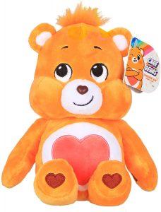 Peluche de Oso Amoroso naranja de 23 cm - Los mejores peluches de los Osos amorosos - Care Bears - Peluches de personajes de los osos amorosos