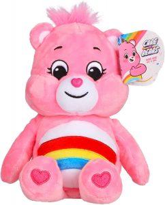 Peluche de Oso Amoroso rosa de 23 cm - Los mejores peluches de los Osos amorosos - Care Bears - Peluches de personajes de los osos amorosos