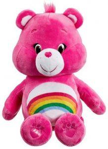 Peluche de Oso Amoroso rosa de 30 cm 2 - Los mejores peluches de los Osos amorosos - Care Bears - Peluches de personajes de los osos amorosos