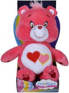 Peluche de Oso Amoroso rosa de 30 cm - Los mejores peluches de los Osos amorosos - Care Bears - Peluches de personajes de los osos amorosos