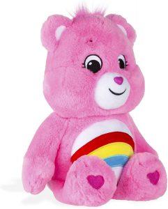 Peluche de Oso Amoroso rosa de 33 cm - Los mejores peluches de los Osos amorosos - Care Bears - Peluches de personajes de los osos amorosos