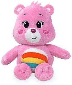 Peluche de Oso Amoroso rosa de 35cm - Los mejores peluches de los Osos amorosos - Care Bears - Peluches de personajes de los osos amorosos