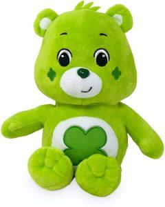 Peluche de Oso Amoroso verde de 35 cm - Los mejores peluches de los Osos amorosos - Care Bears - Peluches de personajes de los osos amorosos