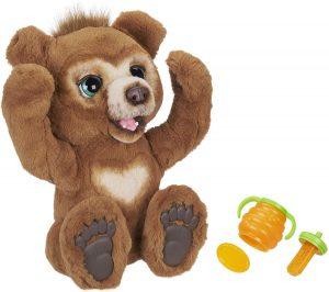 Peluche de Oso Cubby de 40 cm - Los mejores peluches de Furreal Friends - Peluches de animales de Furreal Friends - El oso curioso