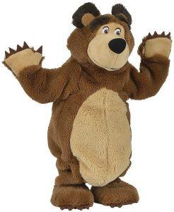 Peluche de Oso bailarín de Simba de 32 cm - Los mejores peluches de Masha y el oso - Peluches de Masha y el Oso