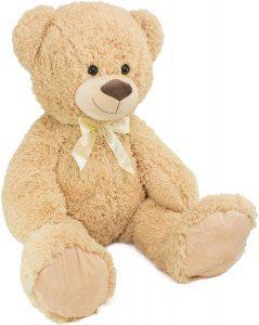 Peluche de Oso con corazón de Brubaker de 100 cm 2 - Los mejores peluches de osos - Peluches de animales - Osos de peluche
