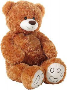 Peluche de Oso de Heunec de 100 cm - Los mejores peluches de osos - Peluches de animales - Osos de peluche