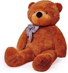 Peluche de Oso de Lumaland de 120 cm - Los mejores peluches de osos - Peluches de animales - Osos de peluche