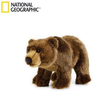 Peluche de Oso de National Geographic de 30 cm - Los mejores peluches de osos - Peluches de animales - Osos de peluche