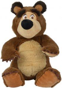 Peluche de Oso de Simba de 20 cm - Los mejores peluches de Masha y el oso - Peluches de Masha y el Oso