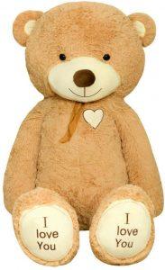 Peluche de Oso de TEDBI de 160 cm - Los mejores peluches de osos - Peluches de animales - Osos de peluche