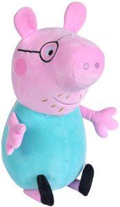Peluche de Papa Wutz de 37 cm - Los mejores peluches de Peppa Pig - Peluches de Peppa Pig