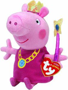 Peluche de Peppa Pig hada de 16 cm de Ty - Los mejores peluches de Peppa Pig - Peluches de Peppa Pig