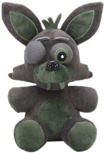Peluche de Phantom Foxy de 20 cm - Los mejores peluches de 5 Nights at Freddys - Peluches de videojuegos